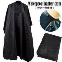 Salon Hair Cutting Hairdressing Cape Styling Gown Cape Barber Apron Cloak CW UK