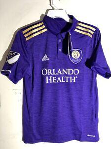 Adidas Authentic Youth MLS Jersey Orlando  Orlando City  Team Purple sz L