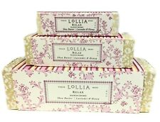 Lollia Relax Handcreme Set Lavender Honey Shea Butter Macadamia Nut