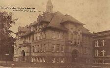 East Side High School in Waterloo IA Postcard 1913