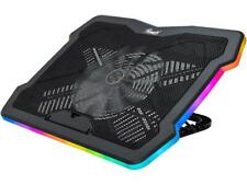 Rosewill RWNB17B 17 inches RGB Gaming Laptop Cooler with Big Quiet Fan. Adjustab