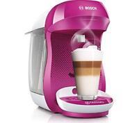 TASSIMO by Bosch Happy TAS1001GB Coffee Machine - Purple & White