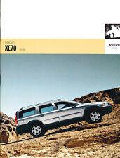 2006 Volvo XC70 38-page Original Car Sales Brochure Catalog