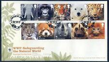 Great Britain 2011 50th Anniversary of WWF set 10 on fdc  (2014/11/30/#12)