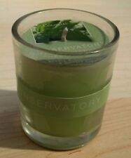 Colony Scented wax filled glass- Conservatory Fresh Herbs Scented Candle