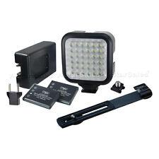 Vidpro Professional Photo/Video 36-LED Light Kit+Battery, Charger, Bracket