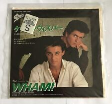 Wham Careless Whisper Original Japanese Import 1984 Nice Copy !!