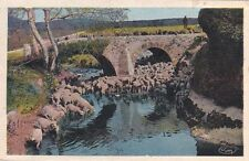 SAINT-CHAMAS pont de la roquette sur la touloubre écrite 1912