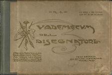 R.C.  Vademecum del Disegnatore - Editrice dell'Artista Moderno - Torino anni 20