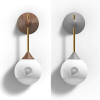 Modern Wall Lamp Lights LED PIR Sensor Light Sconce Lamps Fixture Rechargeable