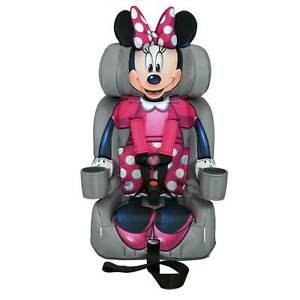KidsEmbrace Disney Minnie Mouse Combination 5 Point Harness Booster Car Seat