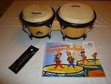 original Nino Bongotrommeln mit Anleitung, Spannschlüssel