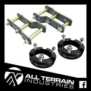 "ISUZU DMAX HOLDEN COLORADO 2"" LIFT KIT - EXTENDED SHACKLES 25MM STRUT SPACERS"