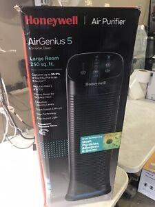 Honeywell AirGenius 5 Air Cleaner Purifier & Odor Reducer HFD320 Black