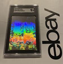Michael Jordan SGC 9 MINT Upper Deck Card Hologram Man Cave 1991 Last Dance #AW4