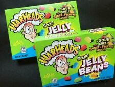 Warheads SOUR Jelly Beans Candy - THEATRE BOX SIZE CANDY- {LOT OF 2 BOXES}