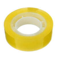 18mm Width Clear Transparent Tape Sealing Packing Stationery