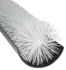 GroundMaster - White Gutter Guard Brush - Drain Debris Downpipe Leaves Filter