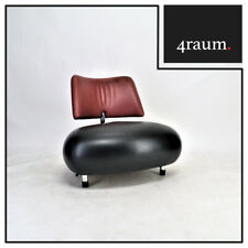 Leolux Pallone-Pa Sessel Leder Relax Designer Cocktail Lounge Interiuer Chair