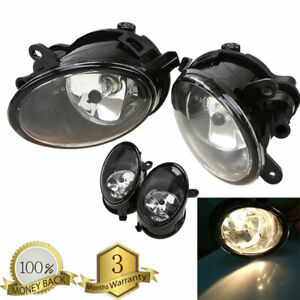 For Audi A6 / A6 QUATTRO C6 2005-2008 2x Front Left & Right Fog Lights Fog Lamps