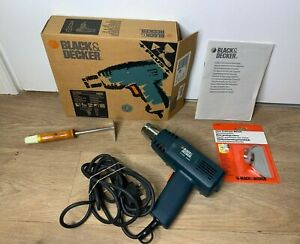 Black & Decker KX1600 Heat Gun- Tested & Working- Boxed With Extras