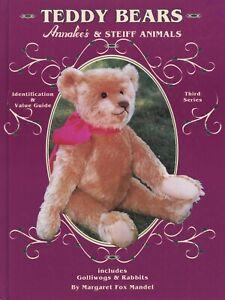 Vintage Annalee's Steiff Bears Rabbits .... / Illustrated Book + Values (Signed)