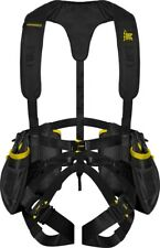 New Hunter Safety System Hanger Harness Black and Yellow HSS-HANG L/XL