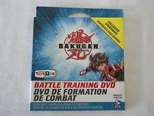 NEW BAKUGAN BATTLE TRAINING DVD TOYS 'R US EXCLUSIVE TIPS TO MASTERY FREE SHIP