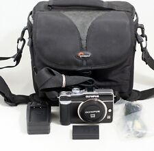 Olympus Pen E-PL1 12.3MP Digital Camera Micro 4/3 Body ONLY 645 Shutter Count