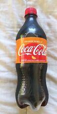 Orange Vanilla Coca-Cola 20oz Coke Exotic Rare Soda