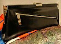 ❤MICHAEL KORS❤*ITALY*ELEGANT RUNWAY*100% Leather/Chrome Lrg Bag msrp $995. NWT