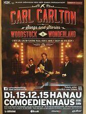 Carl Carlton 2015 Hanau-orig. Concert Poster -- CONCERT AFFICHE a1