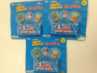 2011 TOPPS WACKY PACKAGES ERASERS BLISTER PACK ( 3 PACK LOT )
