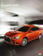2009 09 Mitsubishi Lancer Sales brochure MINT