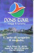 Schede telefoniche rare- private- Pons Tour n° 343-Nuova