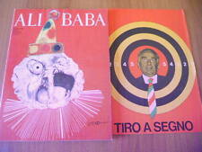 ALI BABA 2/1968 completo del poster Tiro a segno elettorale
