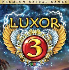 Luxor 3 PC Games Windows 10 8 7 XP Computer gem match three III puzzle jewel