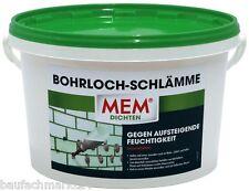 MEM Bohrloch-schlämme 5 Kg Horizontalabdichtung Mauerfeuchtigkeit Abdichtung