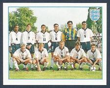 Merlin 1997-PREMIER Liga 97- #270-ENGLAND Equipo Photo-Beckham Rookie