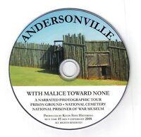 "Andersonville Prison Tour "" With Malice Toward None"""