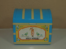Vintage Holly Hobbie Jewelry Box Chest Radio Cute!