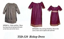 1600-1900's Infant/Toddler Bishop Dress Pattern Timeless Stitches 320