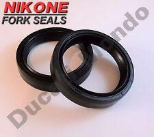 HORQUILLA nikone Oil Seals Set para Cagiva Mito 125 par Mk2 Supercity 50 80 FRECCIA