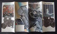 Catalogue appareil photo MAMIYA Press super 23 universal catalog Katalog