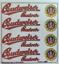 Budweiser Budvar  Decals 1:160 oder Spur N Wasserschiebebilder