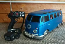 Vintage Maisto VW Bus Van Samba RC Mp3 Player Hookup 1:10 RC Car