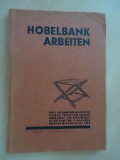 Fachbuch Lehrbuch Hobelbankarbeiten  Schweizer Verein für Knabenhandarbeit 1931