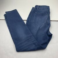 Womens Laurie Felt Los Angeles Jeans Silky Ankle Skinny Size Medium