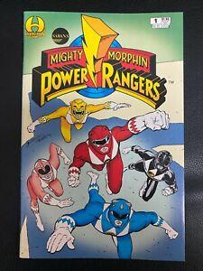 Mighty Morphin Power Rangers 1-Hamilton Comics- VF/NM - WITH White Ranger Card