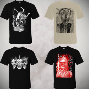 CLEARANCE ARTS FROM THE UNDERGROUND T-SHIRT Punk Crust HC Tattoo grindcore Skull